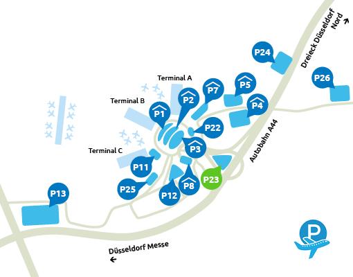 P23 Düseldorf Airport